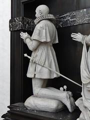 ca. 1630 - 'Hendrik van Varick, margrave of Antwerp (+1641) & Anna Damant (+1630)' (Andreas Colijns (Colyns) de Nole), Sint-Pauluskerk, Antwerpen, province of Antwerp, Belgium (roelipilami (Roel Renmans)) Tags: 1630 1641 henri hendrik de van varik varick margrave markgraaf marquis markgraf antwerp antwerpen anvers amberes anne damant anna st sint sankt saint paulus paul church kerk kirche église iglesia flanders brabant armor armour harnisch rüstung armadura armatura harnas armure wappenrock surcoat surcotte heraldry surcotta effigy epitaph monument priant grafbeeld grafmonument grabmal waffenrock wapenrok spur spurs sword rowel