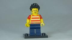 Brick Yourself Custom Lego Figure Stylish Pirate