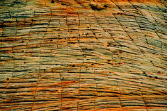 USA (ClaDae) Tags: usa nature zion nationalpark mountain mountainscape travel world earth travelphotography stone sand colors pattern lines