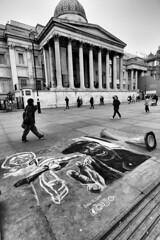 trafalgar-square-street-art-dante3de (MKHardyPhotography) Tags: