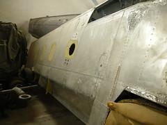 Arado   Ar96B-1   WrkNr. 4246    PI + OT (flyhistorie) Tags: flymuseum exhebition hangar restoration storavatnet bømlo vintage skolefly trainer sola gul13 museumvest herdla jg5 ar96 arado luftwaffe aircr