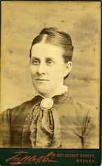 Woman (Yarra Plenty Local History) Tags: portrait old woman cameo