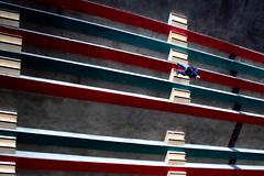 Al padiglione B (meghimeg) Tags: 2017 genova scala stairs colori coloors uomo man salita