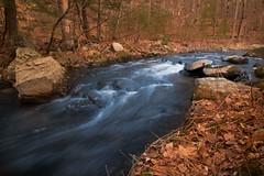 Wood-Creek-Stream-4 (desouto) Tags: nature landscape waterfall rocks weeds green rapids stream woodland sky trees river