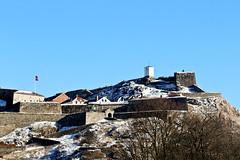 Fredriksten festning (Skau) Tags: halden fortress fredriksten festning norway winter snow sky