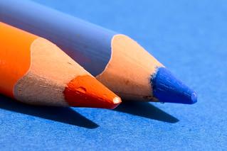 Orange and Blue - Macro Mondays