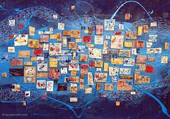 cm 70x50_Primavera_Italiana_painting_Anna_Piratti (Anna Piratti) Tags: art visualart fineart painting exhibition acrylic facetoface galeriemariedemange brussels