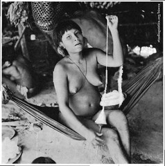 49. Donna Pisciaanseteri che fila cotone (Biblioteca Digital Curt Nimuendajú) Tags: yanomami autorettorebiocca