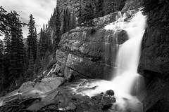 Banff National Park ... Waterfall Below Lac Agnes (Ken Krach Photography) Tags: banffnationalpark waterfall
