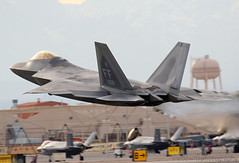 F-22 Raptor Launch during Red Flag 17-1 (JetImagesOnline) Tags: lockeed martin f22 raptor fighter jet aircraft red flag 171 nellis air force base superiority 094168