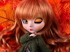Autumn Leaves (Pullipprincess) Tags: pullip pullips pullipamarri amarri doll dolls leaves cute kawaii toys bright custom customized toy groove grooveinc jpgroove junplanning