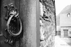 pomo puerta de san Juan de Toran (1 de 1) (Beatriz Graex) Tags: puerta pomo casa