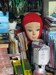 Silent beauty (vittorio vida) Tags: beauty silent mannequin head red scarf veil muslim islam sarajevo balkans