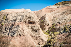 Cliff face - Badlands (danilew) Tags: 2016 badlandsnationalpark lightroomcc september southdakota badlands bluffs cliff cliffs danilew faces ground land landforms mountain mountaintop mountains nature precipices ridges scenery wwwdanilewcom usa 1680mmf284gvr nikkor nikon1680f284 nikon d500 nikond500