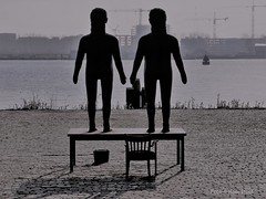 Art in the Eastern Docklands 2-4-17 (kees.stoof) Tags: amsterdam easterndocklands oostelijkhavengebied art kunst beeld statue