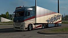 D.S.Trans ([johannes]) Tags: ets2 euro truck simulator lkw lastkraftwagen look low limited tuning trailer thermo trucks trans transport transit actros deutschtruck mercedes mp4 mercedesmp4 michelin mp 4 express v8 chrome