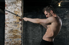 """""""STRONG"""" (Violentz) Tags: male guy man portrait body physique fitness muscle muscular strenth bodybuilder patricklentzphotography"""