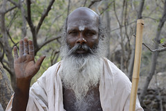 india__14 (BooBoopdx) Tags: nikon d7100 afs dx 1685mm 3556 india travel color photography people faces portrait arunachala tiruvanamalai monk sadhu forest