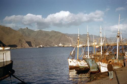 1950s santa cruz harbour