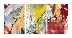 SINNLICHKEIT, 2017 (Details) (Marie Kappweiler) Tags: peintures paintings malerie toile canvas leinwand art kunst künstler künstlerin kappweiler acryl wachs cire fusain kohle charbon