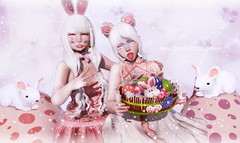 EASTER BASKET (Annyzinh Oliveira) Tags: moonamore inkhole stardust the chapter four ayashi gacha guardians little friend { dh }