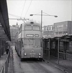 858 in Walsall (geoff7918) Tags: tdh915 858walsall trolleybus sunbeam willowbrook
