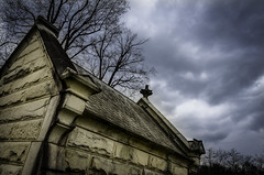 Gothic Harmony (drei88) Tags: vault crypt tomb slate clouds drama dark bleak charged atmosphere dreary desolate eerie solitude eternal