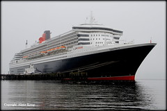 Queen Mary 2 @ Invergordon 19/5/13 (Ally.Kemp) Tags:
