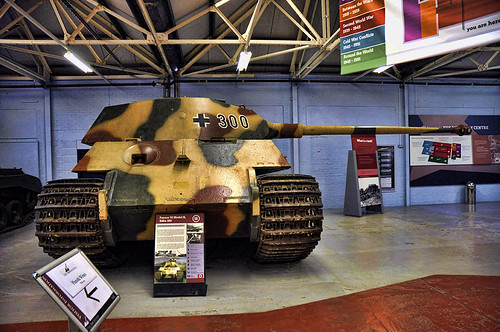 King Tiger no 1, Bovington Tank Museum