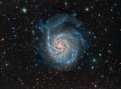 M101 Pinwheel Galaxy (jeffweiss9) Tags: Astrometrydotnet:status=solved Astrometrydotnet:version=14400 Astrometrydotnet:id=alpha20130595002218