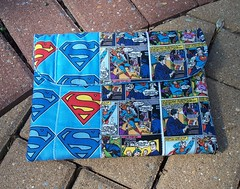 iPad cover for Chris (LASO Quilts) Tags: case superman ipad laso ipadcase lasoquilts
