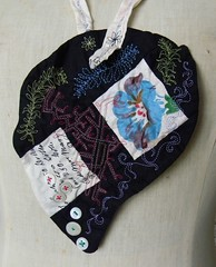 floriography necklace2 (Danny W. Mansmith) Tags: seattle handmade sewing details fiberart delicate homespun urbancraftuprising dannymansmith shellbuttons drawingwiththesewingmachine stopmotionsewing
