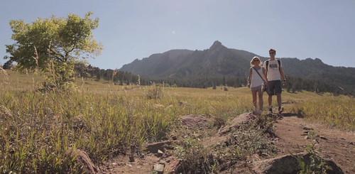 Photo - Hiking at Chautauqua - photo courtesy of LogRhythm