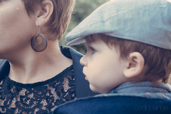 Mother & Son (Cedpics) Tags: family famille portrait mother son cap casquette maman roux fils mre