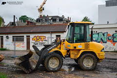 VOLVO L35B Pro (Alexandre Prvot) Tags: france construction nancy construccin lorraine worksite buildingsite travaux chantier cugn grandnancy baustellebauplatz