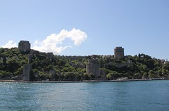 Rumeli Fortress on Bosphorus (anja63) Tags: turkey istanbul bosphorus turchia bosforo rumelifortress