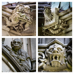 Gargoyles (Dalliance with Light) Tags: gargoyle princeton grotesque mercercounty joyride bookworm graduatecollege