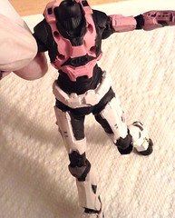 Custom Halo Reach Spartan Update 4.3 (slidercleo) Tags: actionfigure halo reach custom spartan