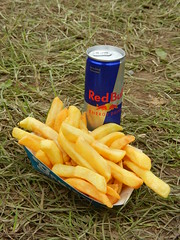 Festival diet. (Oxford77) Tags: feast chips redbull download2013 festivaldiet