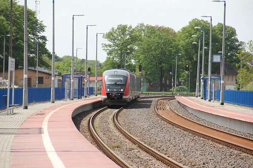 DB Regio 642.034 Desiro DMU , Zgorzelec train station 17.05.2013