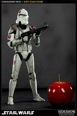 Figura Deluxe Comandante Neyo Star Wars (Acero y Magia) Tags: star deluxe wars figuras comandante sideshow figura neyo