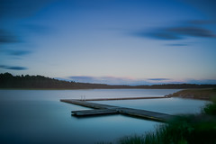 Softly (Appe Plan) Tags: ocean wood bridge light sunset sea summer sun lake seascape abstract beach nature water colors forest landscape nikon long exposure colours smooth silk deck filter le shore nd 28300mm vnern drifting drr appe d700
