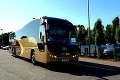 Citylink Gold Coach at Kinross. (B4bees) Tags: scotland blog scenery transport busses coaches kinross m90 citylinkgold visiteastscotland