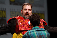 Dan Harmon (Gage Skidmore) Tags: california brown dan nicole community san comic ken diego jim center international convention danny jacobs gillian yvette brie alison con rash harmon mckenna chri jeong pudi 2013
