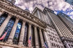 Wall Street on Sunday mood (dpbirds) Tags: nyc newyorkcity canon architechture financialdistrict wallstreet hdr lightroom photomatix canon24105f4is canon24105f4 newyorkdowntown canon5dmkiii newyorkcityfinancialdistrict darshanvaishnav nyc2013