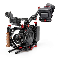 Axis, EVF Mount, on the Half Cage with a Canon C300 camera (Zacuto) Tags: camera accessories axis zacuto evfmount zfinderevfpro zwissplate canonc300 studiobaseplate