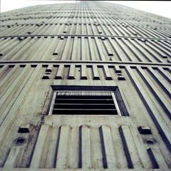 convention centre (ziz) Tags: colour mediumformat concrete vent kodak melbourne flindersstreet conventioncentre spencerstreet c41 hasselblad500c ektar100