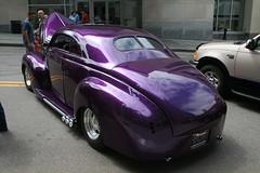 Custom 1940 Mercury (osubuckialum) Tags: show cars car nc triangle downtown purple mercury north 1940 raleigh carolina 40 custom carshow merc 2013 raleigharea carolinaclassicsatthecapital