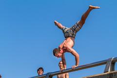 AuTrainPark-20130706-144 (Frank Kloskowski) Tags: bridge summer people water jump michigan dive upperpeninsula lakesuperior autrainriver autrain psports