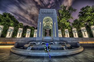 WWII Memorial, Atlantic Arch